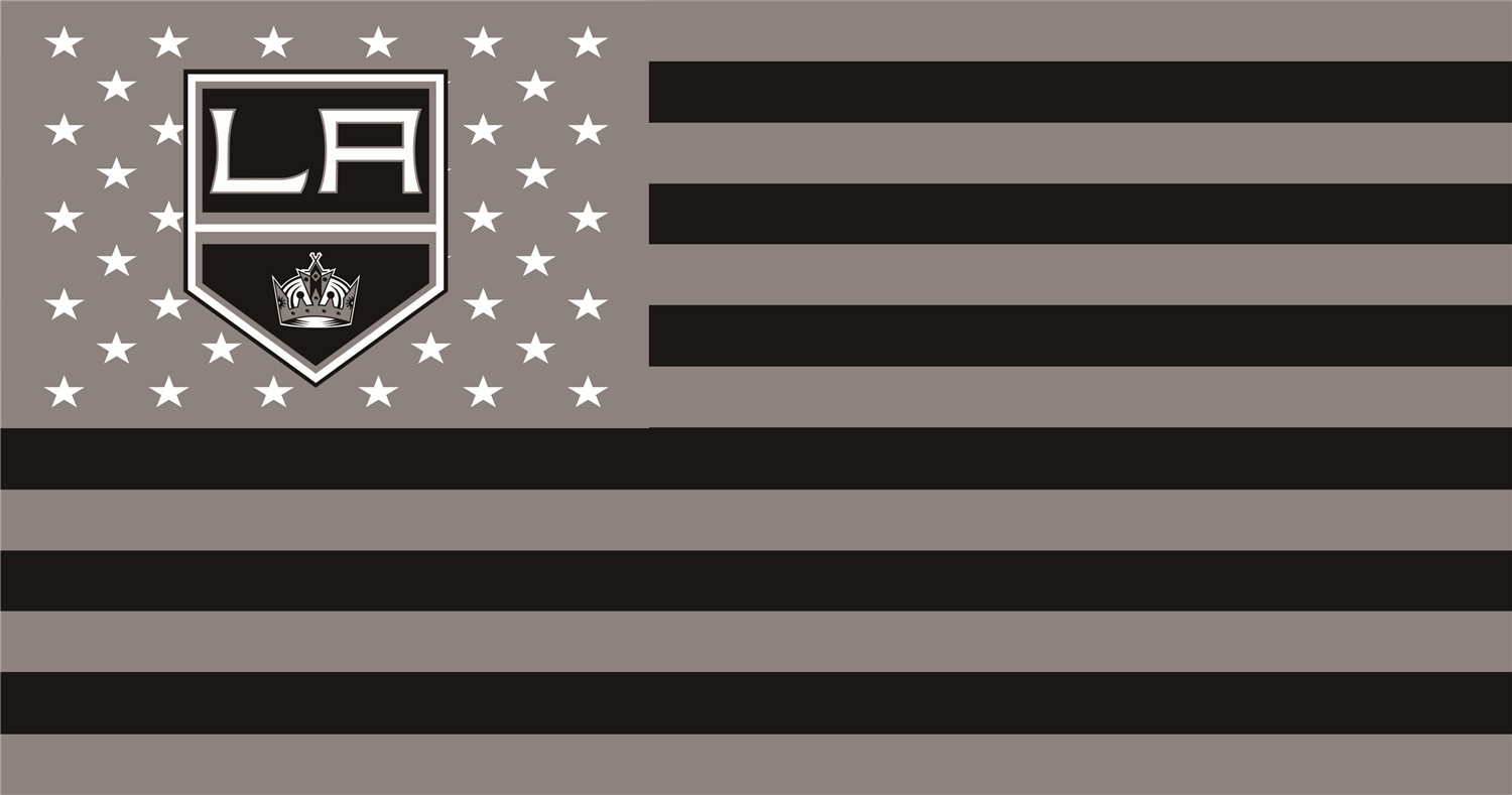 Los Angeles Kings Flags iron on transfers