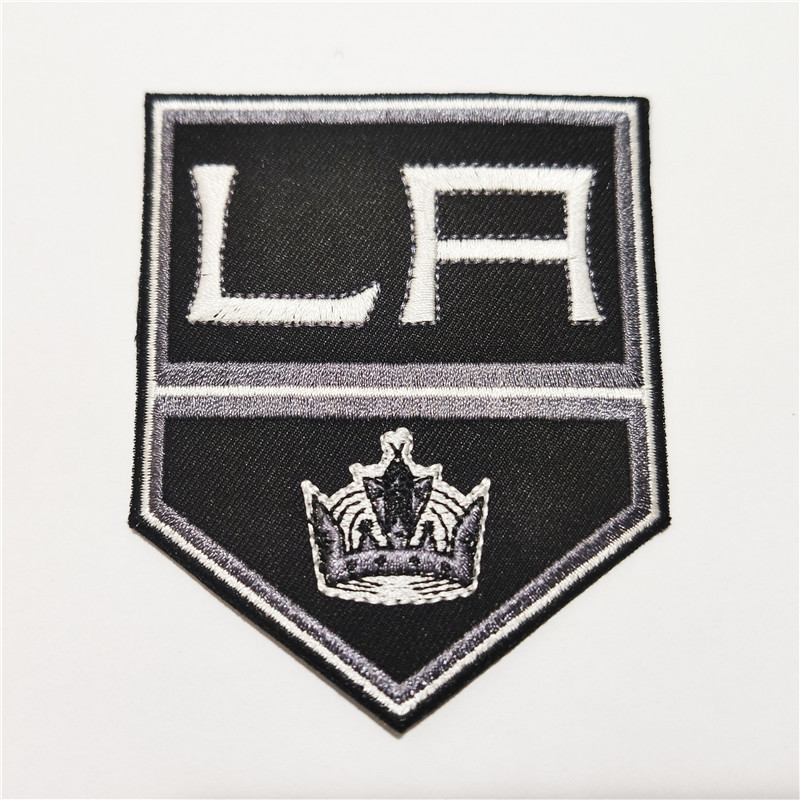 Los Angeles Kings Logo Iron-on Patch Velcro Patch 3.5 inches