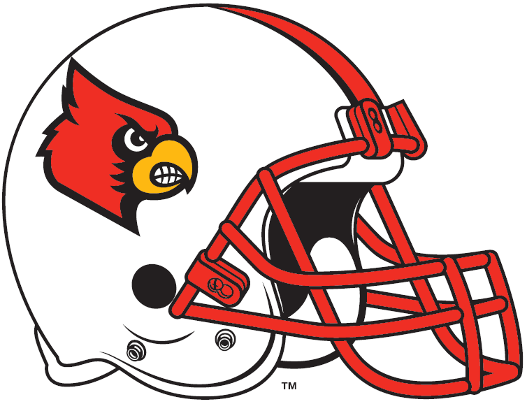 Louisville Cardinals 2007-2008 Helmet Logo iron on transfers for clothing