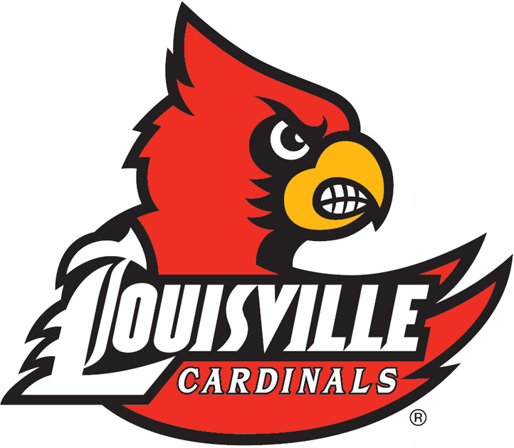 Louisville Cardinals 2007-2012 Primary Logo iron on transfers for clothing