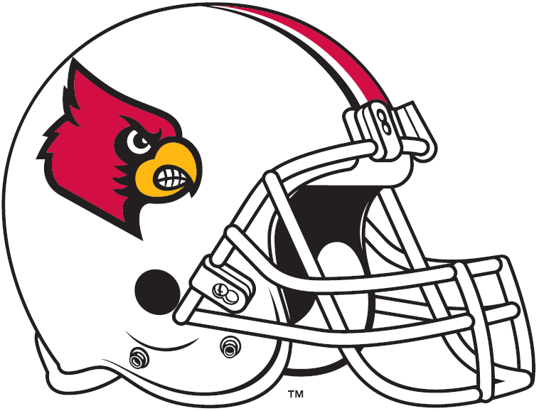 Louisville Cardinals 2013-Pres Helmet Logo iron on transfers for clothing