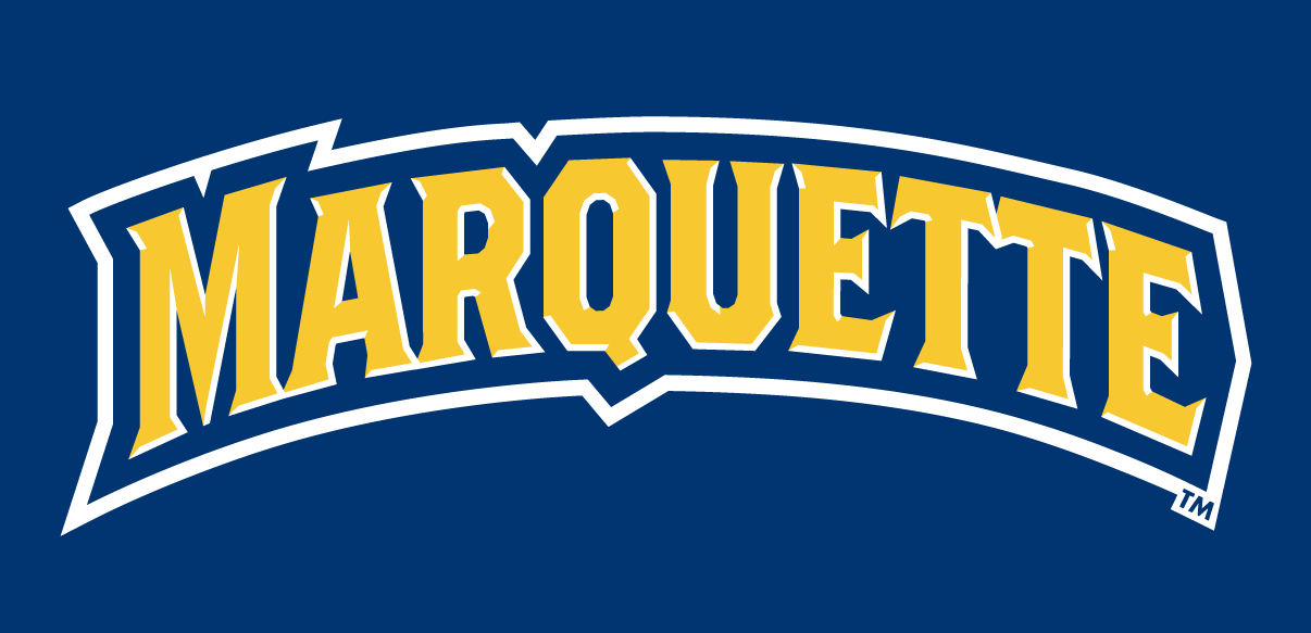 Marquette Golden Eagles 2005-Pres Wordmark Logo v2 iron on transfers for clothing