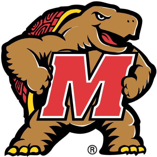 Maryland Terrapins 1997-2000 Secondary Logo iron on transfers for clothing