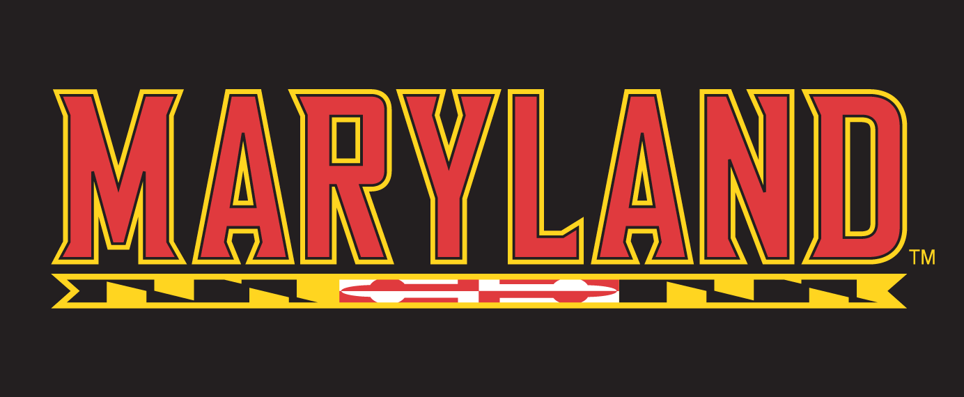 Maryland Terrapins 1997-Pres Wordmark Logo v12 iron on transfers for clothing