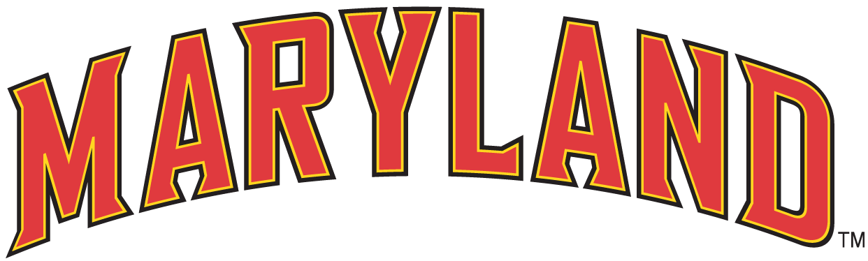 Maryland Terrapins 1997-Pres Wordmark Logo v6 iron on transfers for clothing