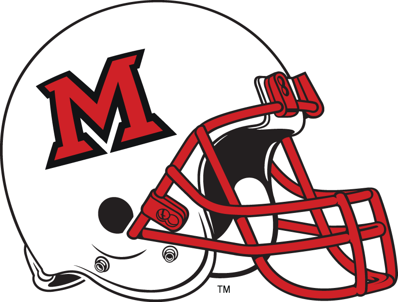 Miami (Ohio) Redhawks 1997-Pres Helmet Logo iron on transfers for clothing