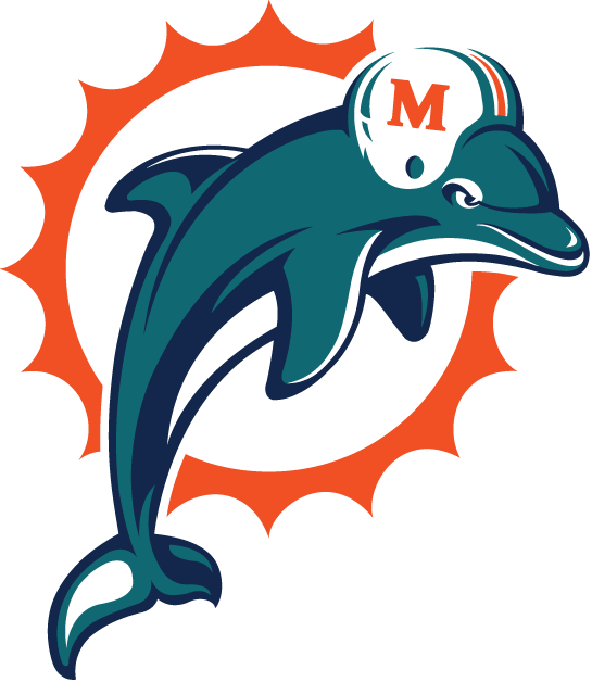 Miami Dolphins 1997-2012 Primary Logo iron on transfers for clothing