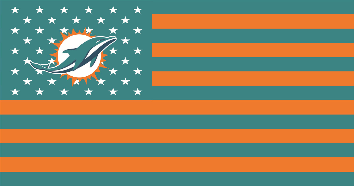 Miami Dolphins Flags iron on transfers