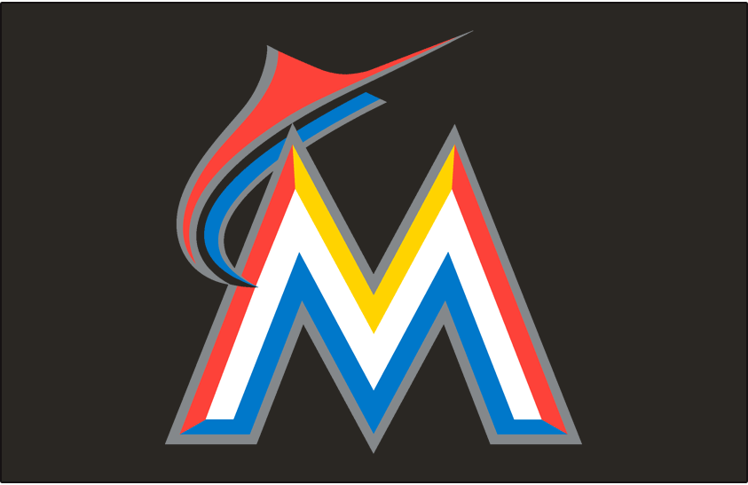 Miami Marlins 2012-2018 Cap Logo iron on transfers for clothing