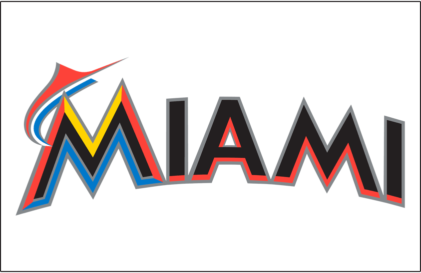 Miami Marlins 2012-2018 Jersey Logo iron on transfers for clothing version 2