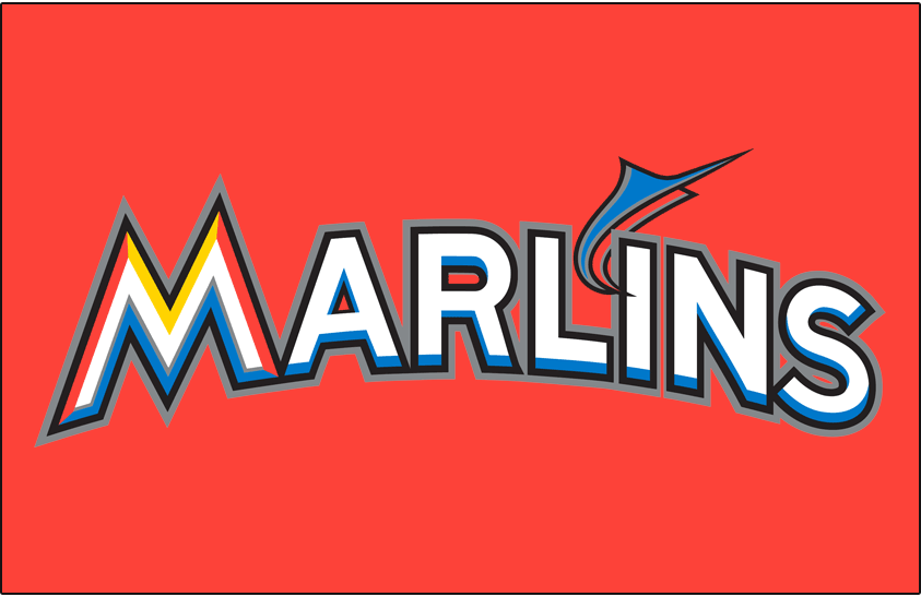 Miami Marlins 2012-2018 Jersey Logo iron on transfers for clothing version 3