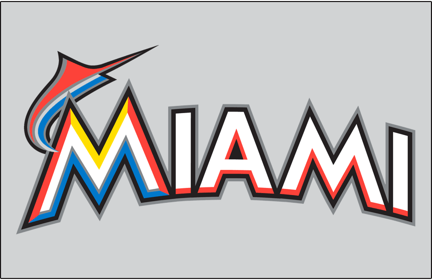 Miami Marlins 2012-2018 Jersey Logo iron on transfers for clothing