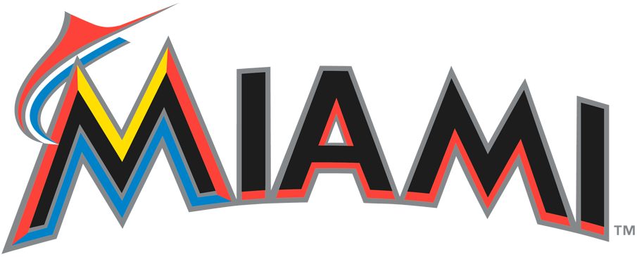 Miami Marlins 2012-2018 Wordmark Logo iron on transfers for clothing