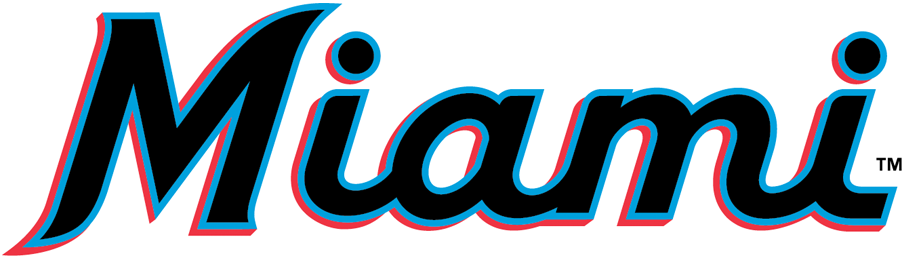 Miami Marlins 2019-Pres Wordmark Logo iron on transfers for clothing