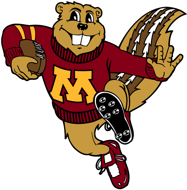 Minnesota Golden Gophers 1986-Pres Mascot Logo v2 iron on transfers for clothing