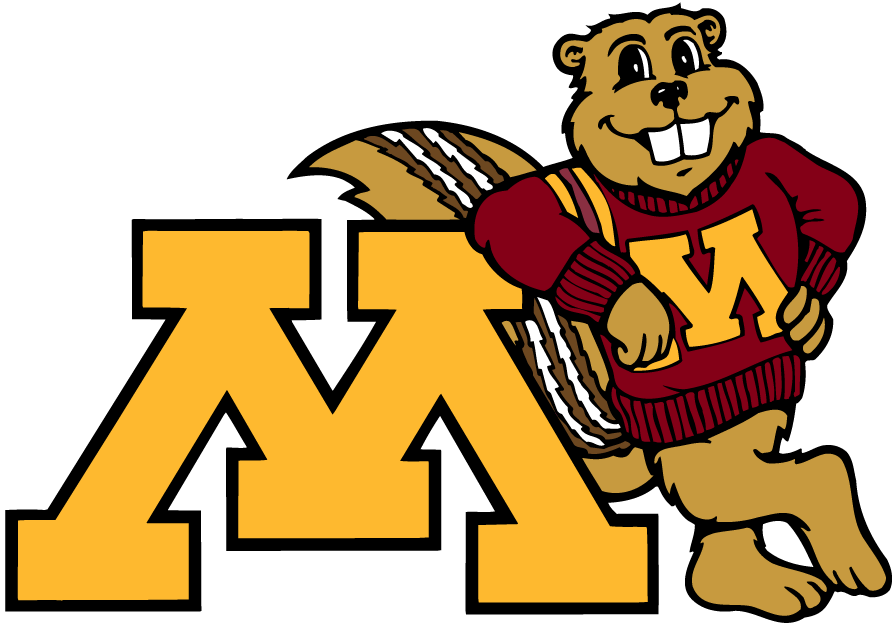 Minnesota Golden Gophers 1986-Pres Mascot Logo v6 iron on transfers for clothing
