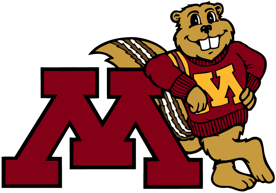 Minnesota Golden Gophers 1986-Pres Mascot Logo v7 iron on transfers for clothing