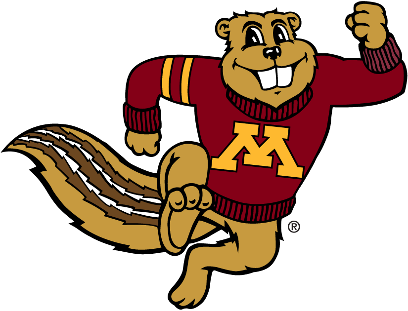 Minnesota Golden Gophers 1986-Pres Mascot Logo iron on transfers for clothing