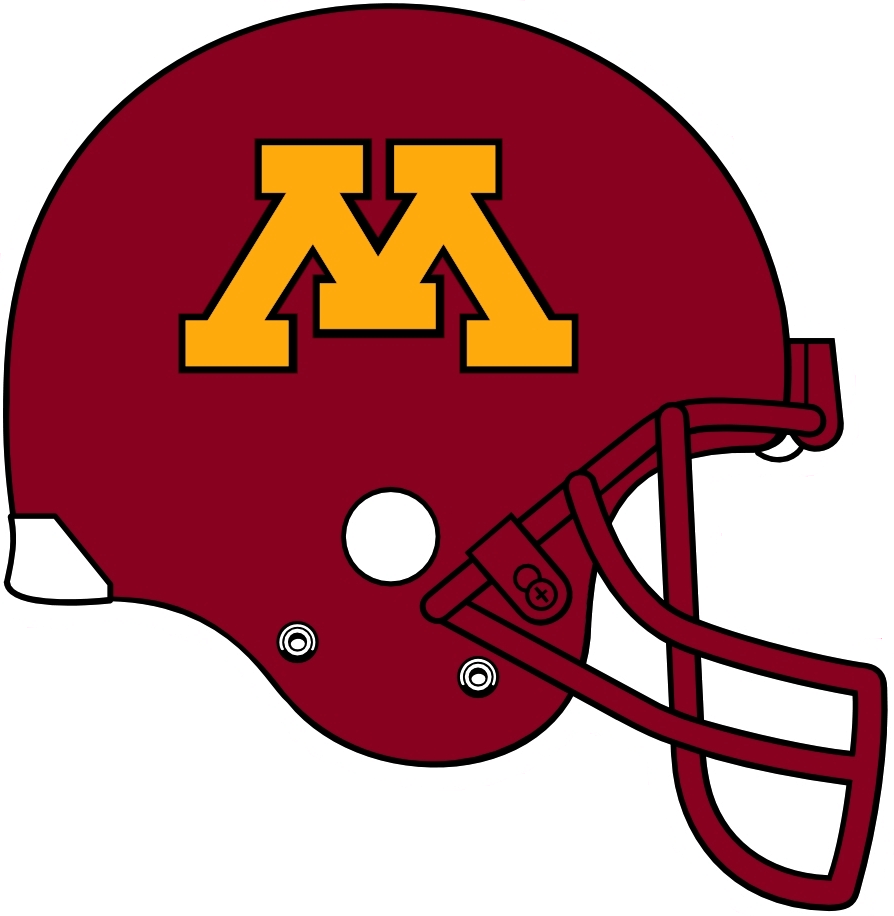 Minnesota Golden Gophers 1999-2007 Helmet Logo iron on transfers for clothing