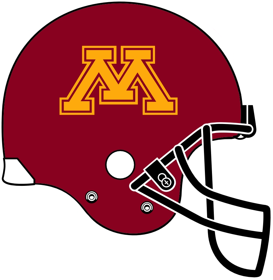 Minnesota Golden Gophers 2008-Pres Helmet Logo iron on transfers for clothing