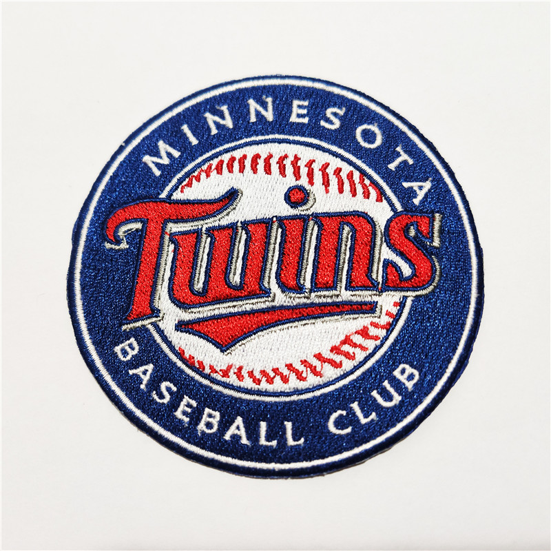 Minnesota Twins Logo Iron-on Patch Velcro Patch 3.5 inches
