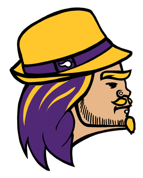 Minnesota Vikings Hipsters Logo iron on transfers