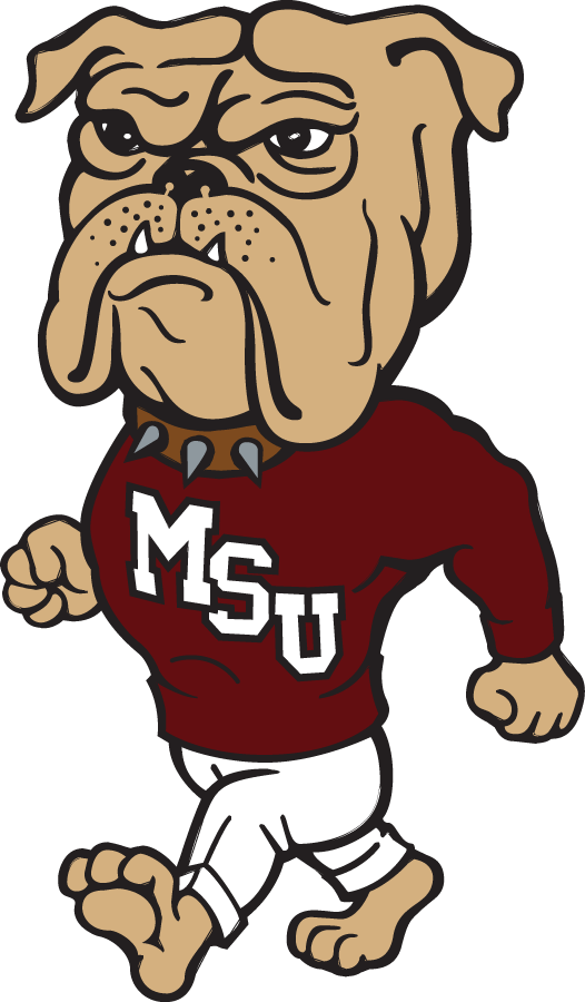 Mississippi State Bulldogs 1986-2008 Mascot Logo v2 iron on transfers for clothing