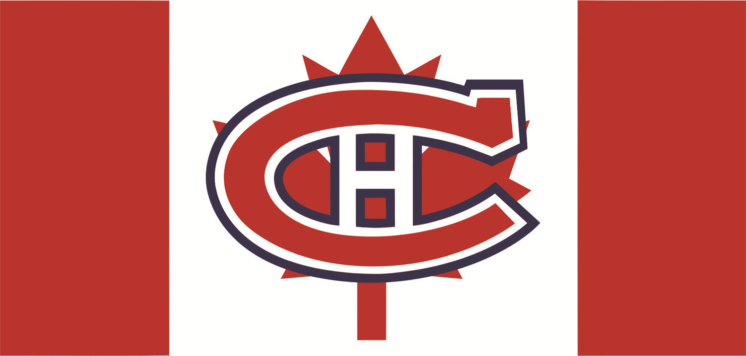 Montreal Canadiens Flags iron on transfers