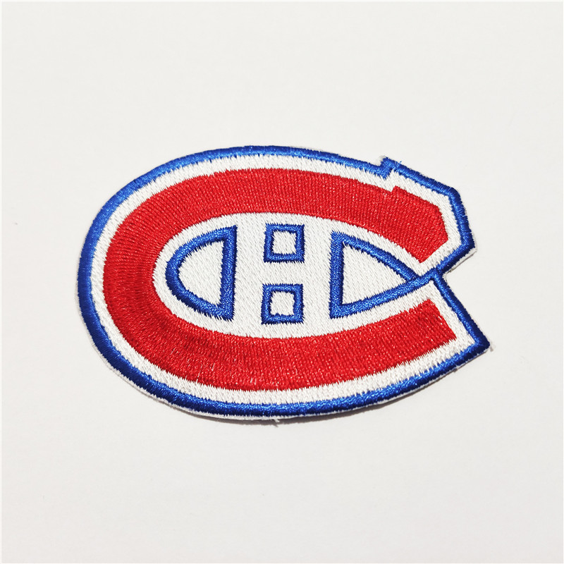 Montreal Canadiens Logo Iron-on Patch Velcro Patch 3.5 inches