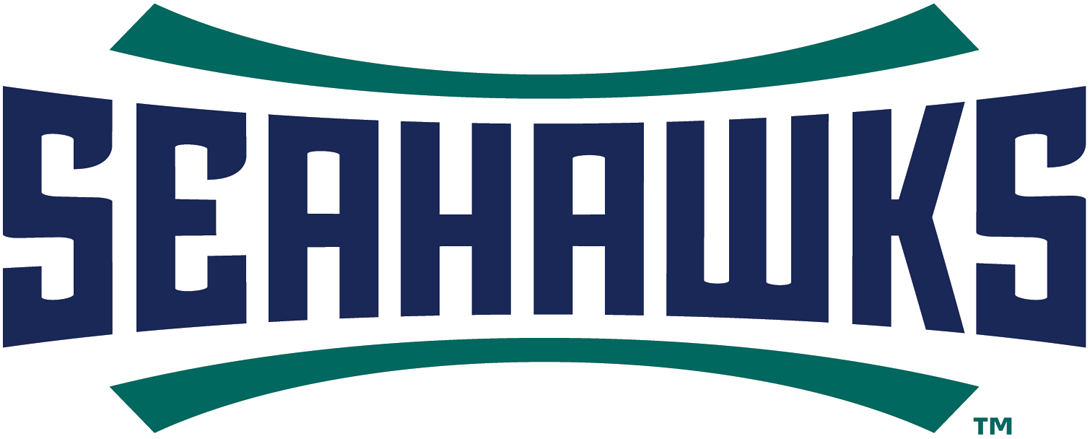 NC-Wilmington Seahawks 2015-Pres Wordmark Logo v2 iron on transfers for clothing