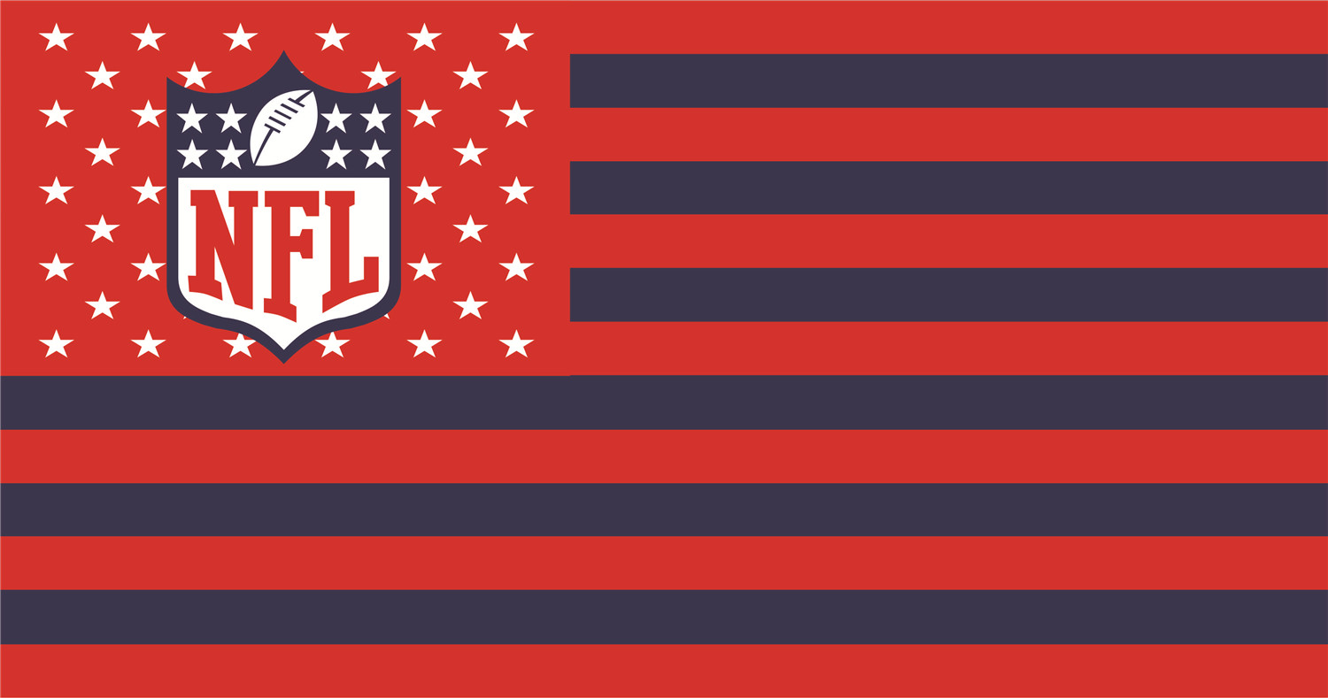 NFL Flags iron on transfers