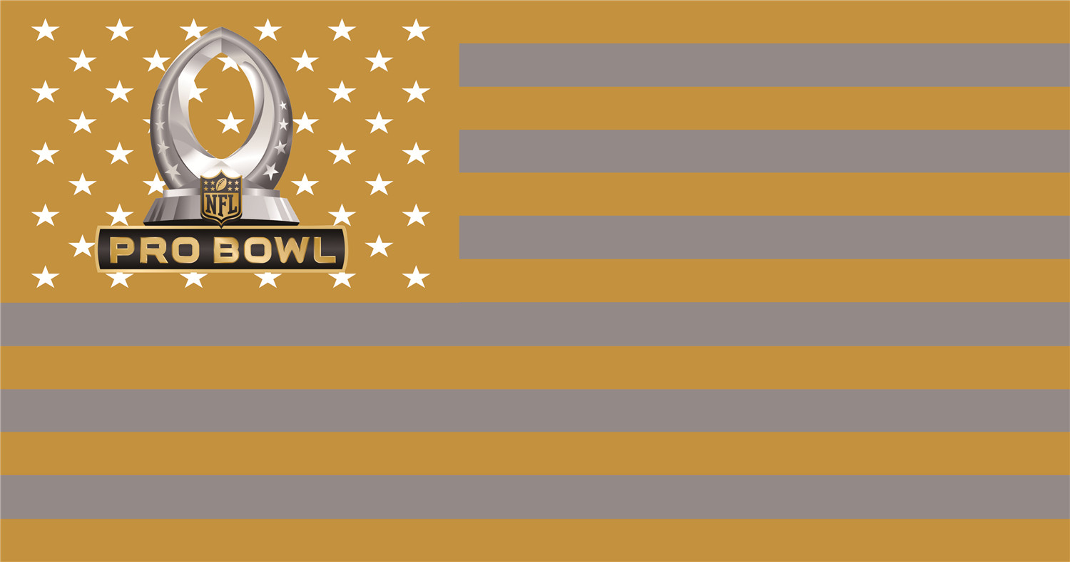 NFL Pro Bowl Flags iron on transfers