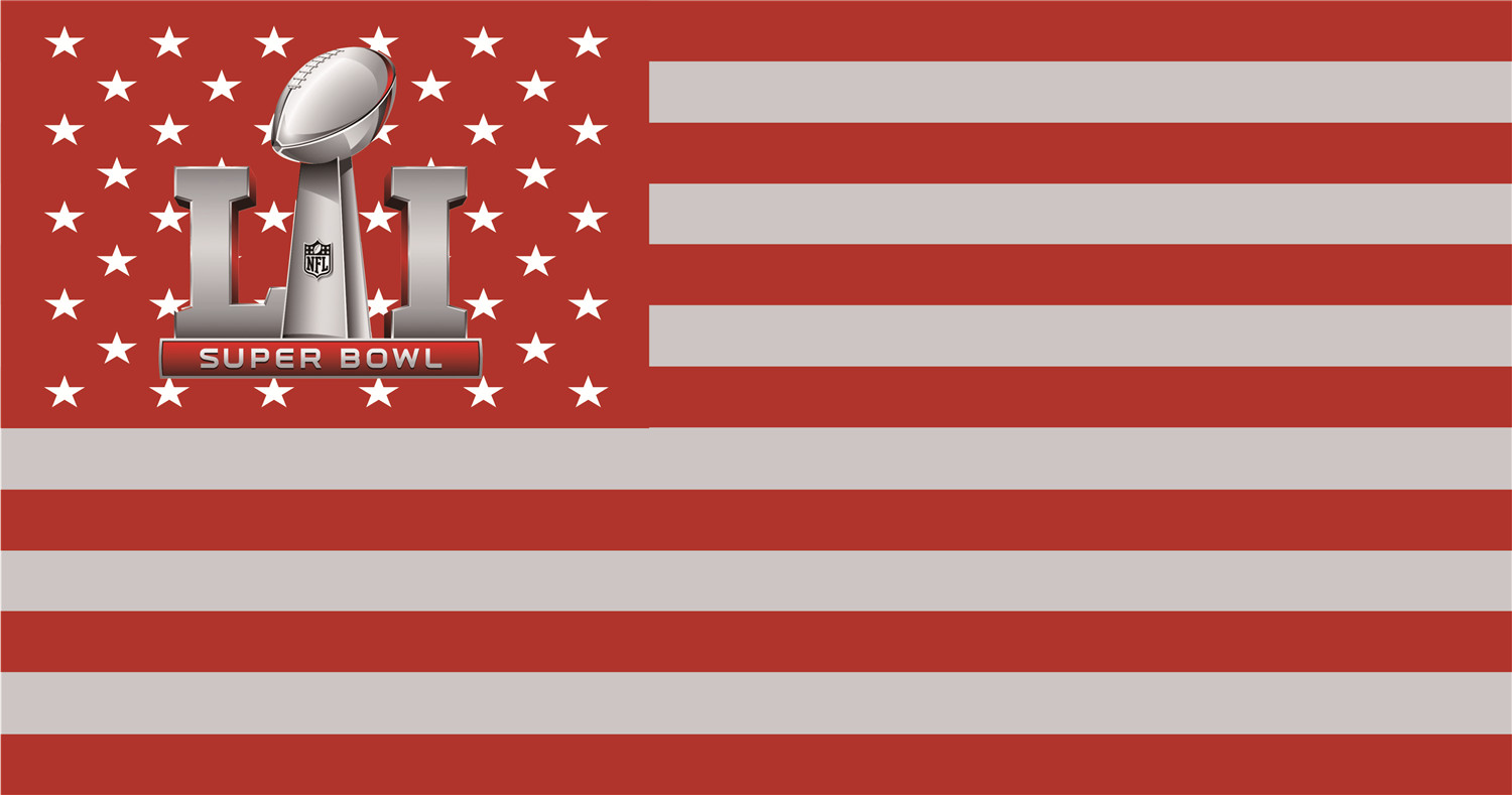 NFL Super Bowl Flags iron on transfers