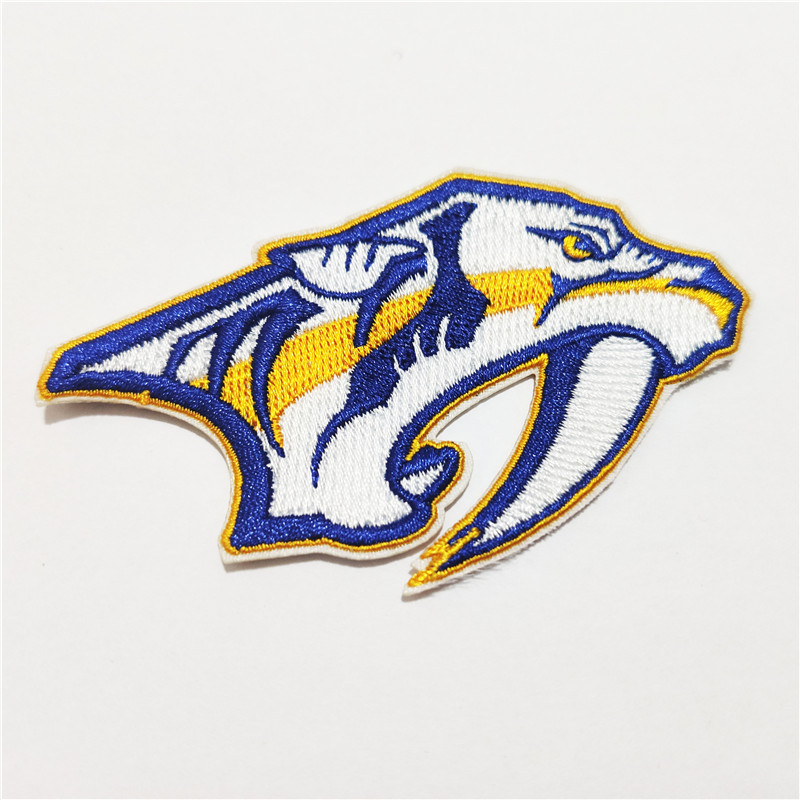 Nashville Predators Logo Iron-on Patch Velcro Patch 3.5 inches