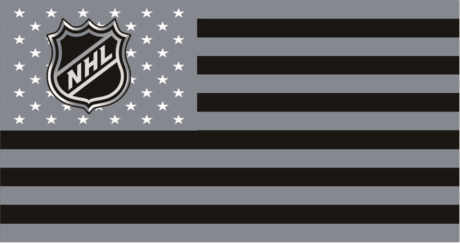 National Hockey League Flags iron on transfers