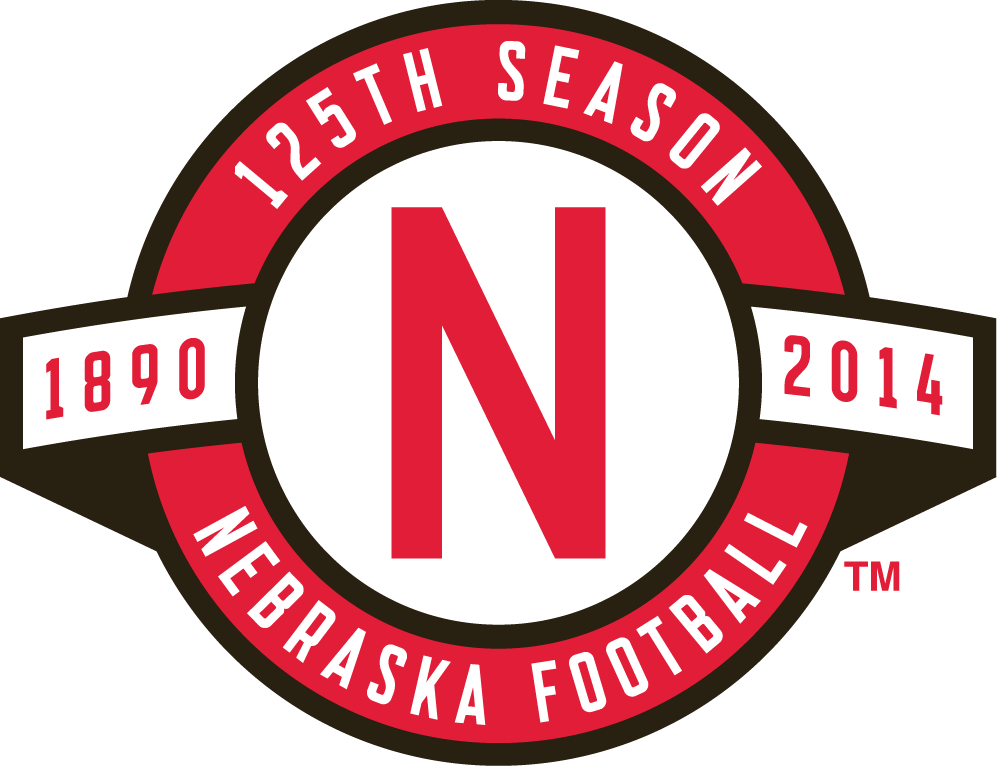 Nebraska Cornhuskers 2014 Anniversary Logo iron on transfers for clothing