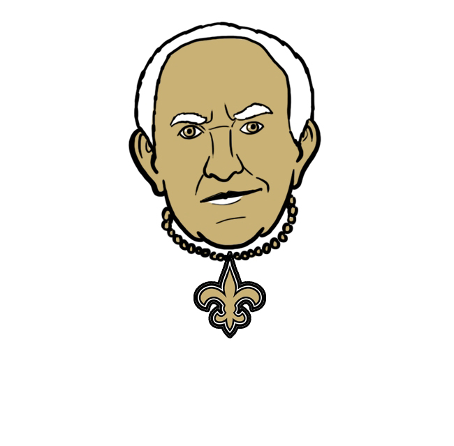 New Orleans Saints The High Sparrow Logo iron on transfers