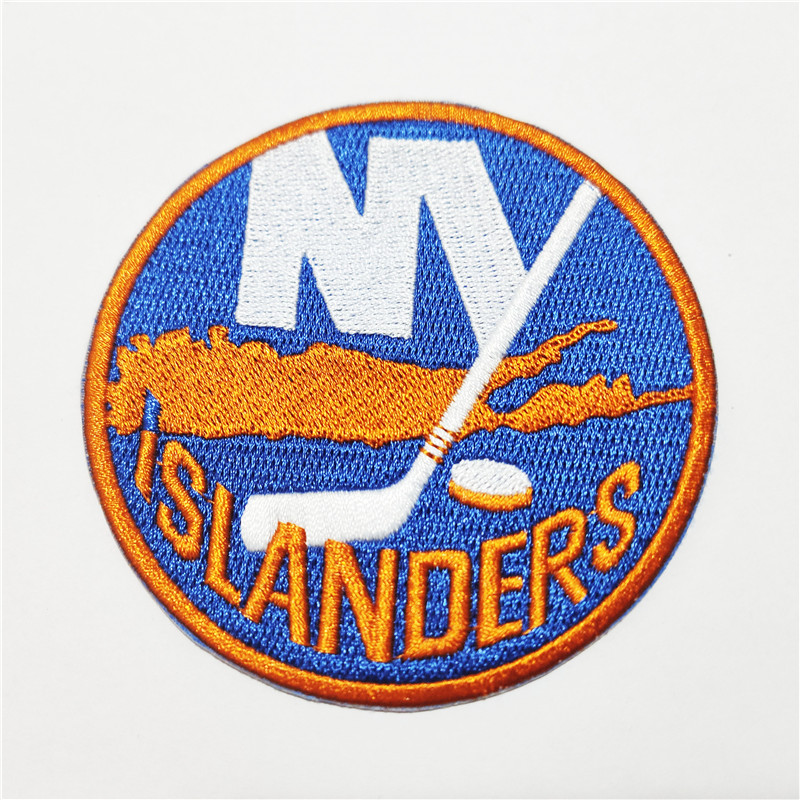 New York Islanders Logo Iron-on Patch Velcro Patch 3.5 inches