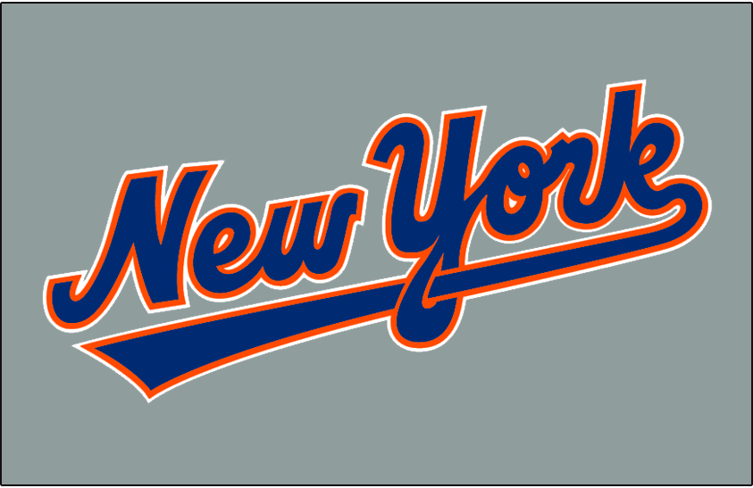 New York Mets 1993-1994 Jersey Logo iron on transfers for clothing