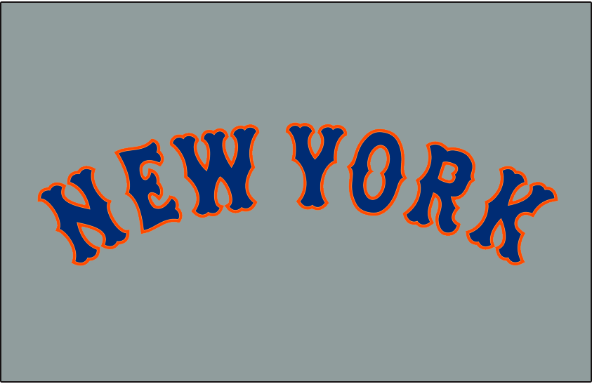 New York Mets 2012-Pres Jersey Logo iron on transfers for clothing