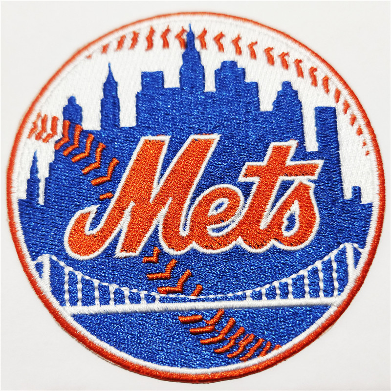 New York Mets Logo Iron-on Patch Velcro Patch 3.5 inches