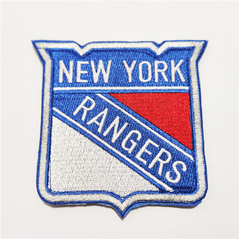 New York Rangers Logo Iron-on Patch Velcro Patch 3.5 inches