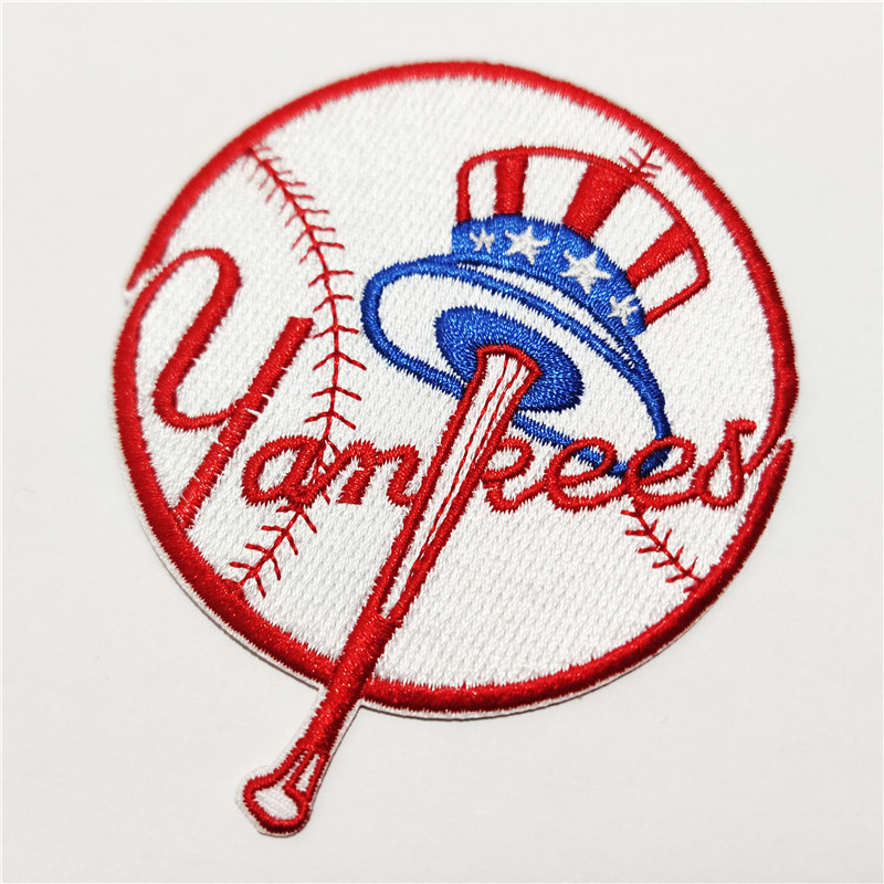 New York Yankees Logo Iron-on Patch Velcro Patch 3.5 inches