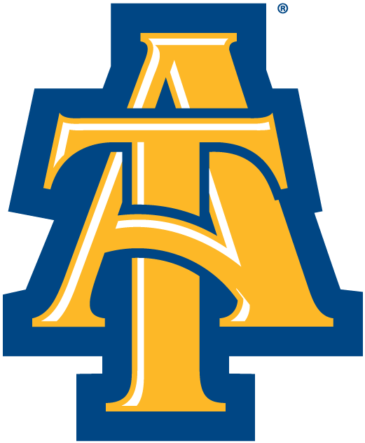 North Carolina A&T Aggies 2006-Pres Alternate Logo iron on transfers for clothing...