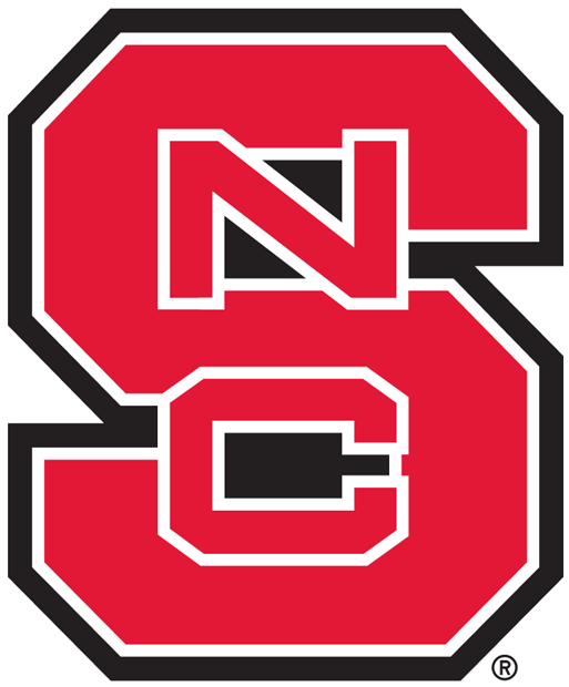 North Carolina State Wolfpack iron ons