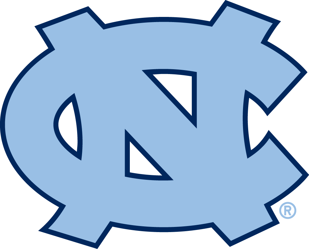 North Carolina Tar Heels 2005-2014 Primary Logo iron on transfers for clothing...