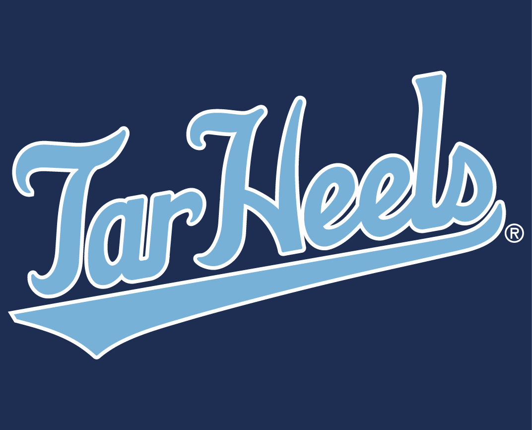 North Carolina Tar Heels 2015-Pres Wordmark Logo v13 iron on transfers for clothing