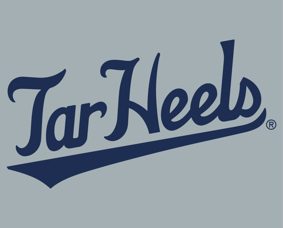 North Carolina Tar Heels 2015-Pres Wordmark Logo v14 iron on transfers for clothing