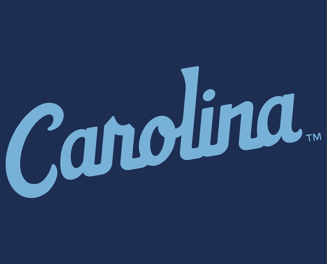 North Carolina Tar Heels 2015-Pres Wordmark Logo v6 iron on transfers for clothing