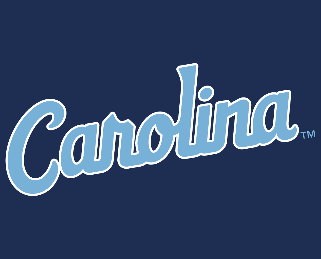 North Carolina Tar Heels 2015-Pres Wordmark Logo v7 iron on transfers for clothing